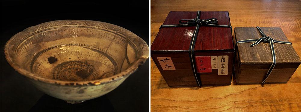 茶碗 朝鮮時代17世紀(左写真)