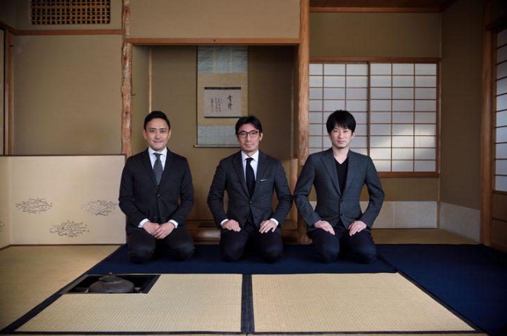 右から、樂 篤人さん、戸田貴士さん、藤田 清館長